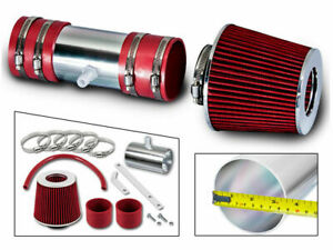 Short Ram Air Intake Kit + RED Filter For 09-11 Chevy Traverse LS/LT/LTZ 3.6L V6