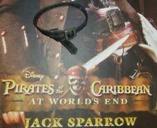 1/6 Hot Toys At World's End Captain Jack Sparrow MMS42 Black Belt Waist