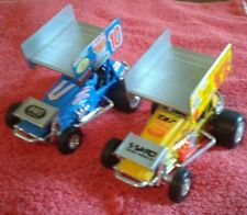 Lot of Two Die Cast Sprint Cars - Bobby Davis Jr. / Chris Eash 1:43