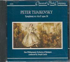 CD CLASSIQUE--TCHAIKOWSKY--SYMPHONIE N°4 OPUS 36