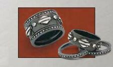 """Ladies Spirit of """"Harley"""" Stacking Ring Silver Version from Franklin Mint - SZ 6"""