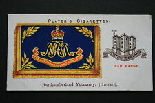 Northumberland Yeomanry (Hussars)  British Army  Original 1920's Vintage Card
