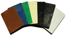 50 ASSORTED SOLID PLASTIC PACKERS SHIMS 100x75mm
