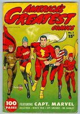 America's Greatest Comics #1 VG Classic Cover GiantSize