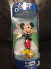 "Disney Mickey Mouse Bobblehead Doll On Star Base Bobble Dobbles NEW In Box! 6.5"""