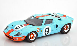 1:18 Solido Ford GT40 Winner 24h Le Mans Rodriguez/Bianchi 1968 Gulf