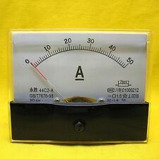 Class 1.5 Accuracy DC 0-50a Current Ampere Meter 44c2