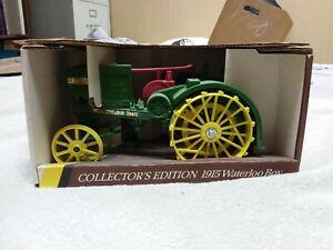 ERTL John Deere 1915 Model R Waterloo Boy Blueprint Collectors Tractor #559-10DA
