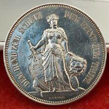 Monnaie argent 5 Francs concours Tir de Berne 1885 Suisse