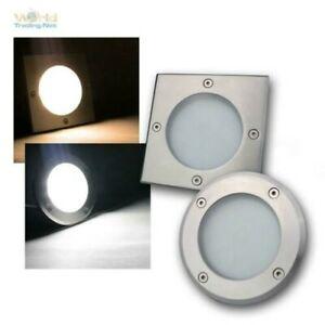 LED Recessed Floor Ligths 230V IP65 Recessed Outdoor Light Garden Spotlight