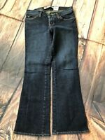 Gap Ultra Low Rise Dark Blue Jeans 2 Ankle/Court Crease Lines in Denim  Womens