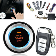Car Engine Start Stop Button Remote Smart Key PKE Passive Keyless Entry System