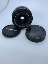 Olympus OM-system Zuiko Auto-W 28mm 1:2.8 Lens Photography Camera Lens
