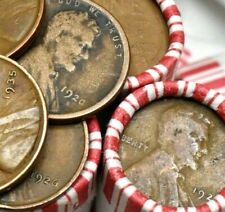 (Dates 1920-1939) LINCOLN WHEAT PENNY ROLL PDS RARE US CENTS CIRCULATED PENNIES