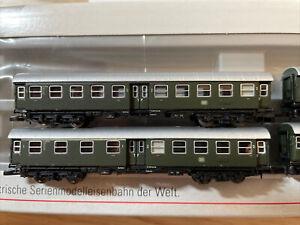 Märklin 87530 Spur Z Umbauwagen-Set 4-achsig 4 teilig DB Gebraucht in OVP