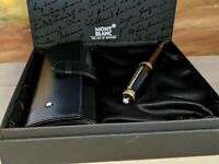 MONTBLANC Meisterstuck 75th Anniversary Traveler 147 Fountain Pen w Leather Case