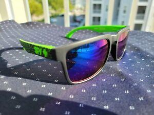 SPY OPTICS Promo Sunglasses KEN BLOCK Specialists Green Earthquakes EQS15