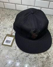 New $65 Filson x Ebbets Field Stag Deer Black  Wool Hat Baseball Cap Made In USA