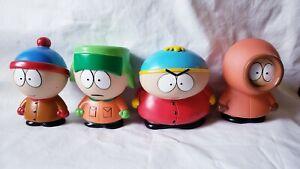 "Vintage South Park 2.5"" Figure Lot Kyle Stan Kenny Cartman 1998 Fun 4 All"