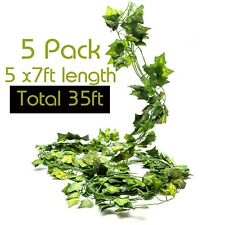 i3a Artificial IVY GARLAND LEAVES 7ft 210cm Fake Trailing Vine plant Garden Home