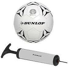 Pallone da Calcio Misura Regolamentare Palla di in Cuoio con Gonfiatore
