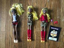Monster High Dolls Clawdia wolf wolf pack, frights camera action