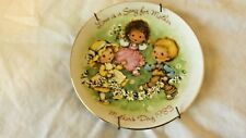 "Vintage Avon Love is a Song 1983 Mothers Day Plate 5"" Cl9-6"
