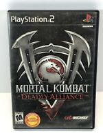 Mortal Kombat: Deadly Alliance (Sony PlayStation 2, 2002) As Is Complete PS2