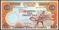 2002 Samoa 20 Tala Banknote * UNC * P-35a *