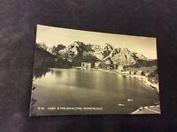 Lake Misurina - Vintage Real Photo Postcard