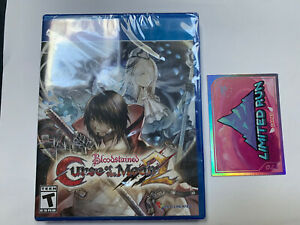 Bloodstained Curse of the Moon 2 (PlayStation 4 PS4) Limited Run Games + 1 Card