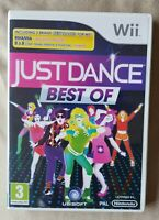 Nintendo Wii game - Best of Just Dance + instructions