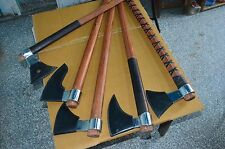Viking Replica Medieval Hand Forged Axe SET OF FIVE 6.5 KGS.