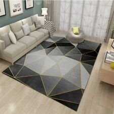 Abstract Geometry Carpet Rug Living Room Bedroom Coffee Table Decorative Room