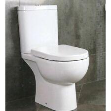 RAK Tonique Close Coupled Comfort Height Open Back Round Toilet Soft Close Seat