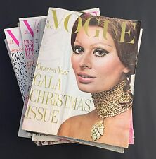 VINTAGE VOGUE MAGAZINE Lot of 14 issues from 1970 wow!!!