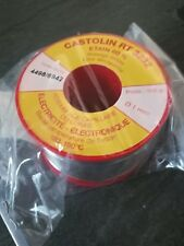 Rotolo stagno 500gr Castolin RT 3232