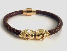 Leather Bracelet Northskull Inspired