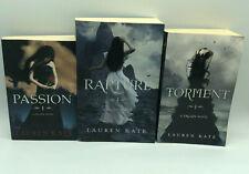 Lauren Kate 3 x Fallen Novels - Passion & Torment & Rapture - Free Post
