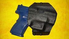 HOLSTER SET BLACK KYDEX FITS SPRINGFIELD XD MOD 2 9mm OWB w/TRIPLE MAG HOLSTER