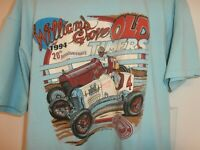 Vintage 1994 EMMR Williams Grove Old Timers T Shirt  size XL