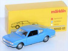 Märklin 1:43 18103-03 Audi 100 Coupé aus Metall in lichtblau - NEU + OVP