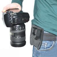 Tripod Mount Waist Belt Clip for SLR DSLR Camera Canon EOS Nikon Sony