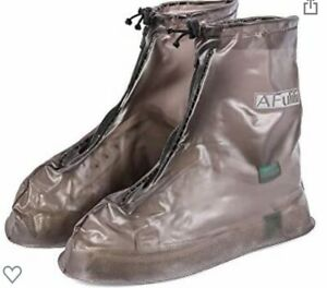 Waterproof Reusable Rain / Snow Shoe Covers XL Size  New in Bag - Brown