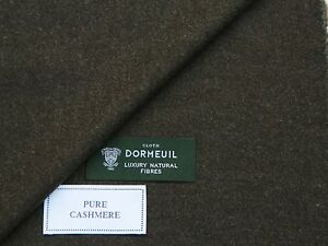 DORMEUIL 100% PURE CASHMERE, BROWN/GREY JACKETING FABRIC 2.0METRES