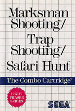 # Sega Master System-Marksman & trap Shooting + Safari Hunt/MS juego #