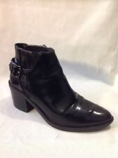 Pull&Bear Black Ankle Boots Size 36