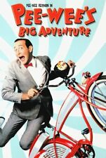 Pee Wees Big Adventure Movie Poster 24x36