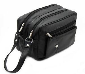 StarHide Men Women Travel Zipper Wash Bag Toiletries Makeup Organizer Pouch Bag