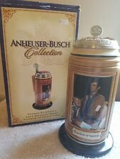 Anheuser-Busch Budweiser FREEDOM OF SPEECH STEIN Ceramic Four Freedoms  CS595